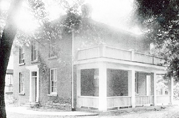 House on Waterloo Avenue, 1911